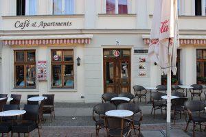 DAS EIS CAFÉ Am Brandenburger Tor