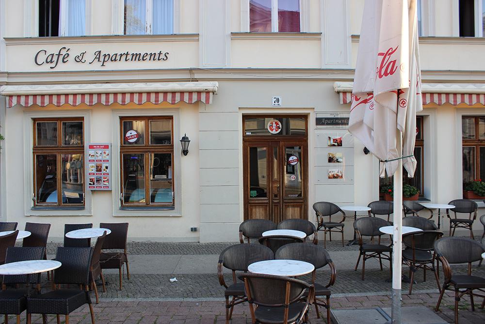 DAS EIS · CAFÉ Am Brandenburger Tor