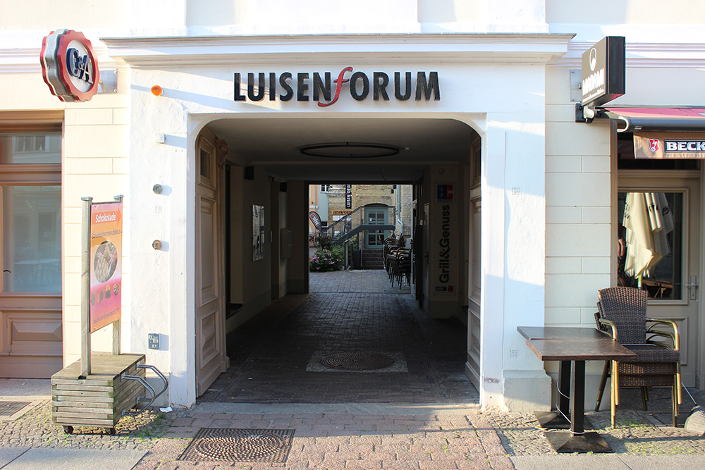 Luisenforum Brandenburger Straße Potsdam