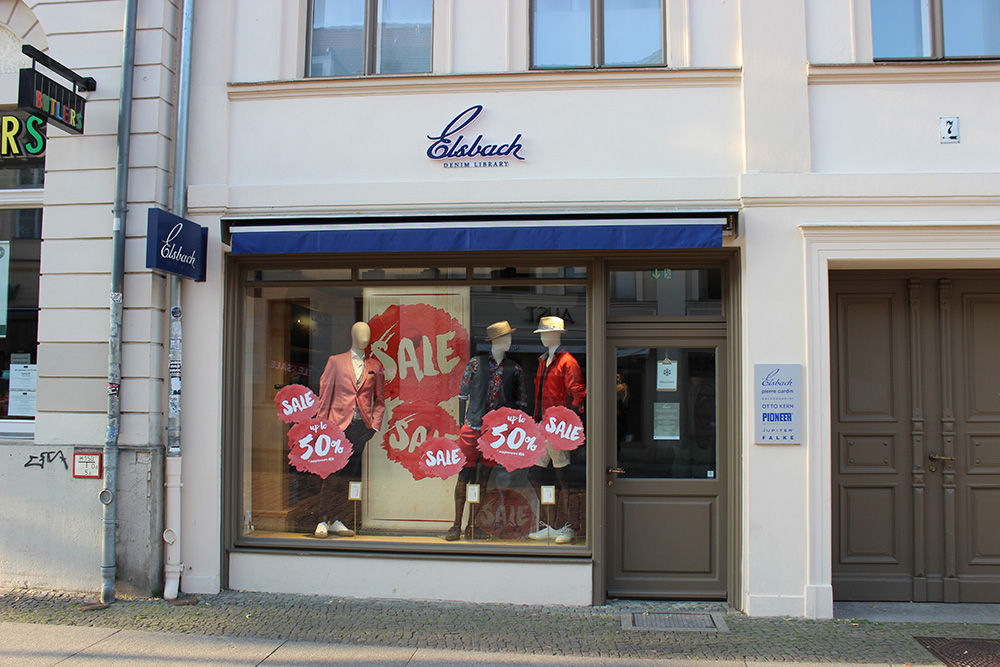 Elsbach Denim Library Brandenburger Straße Potsdam