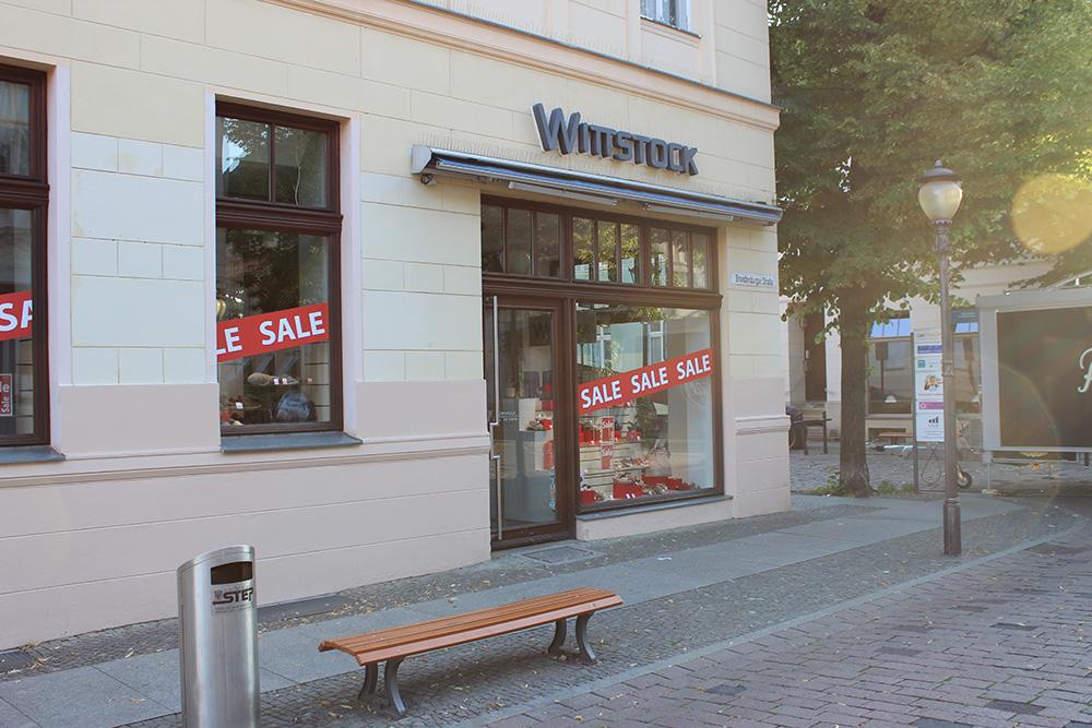 Schuhhaus Wittstock Brandenburger Straße Potsdam