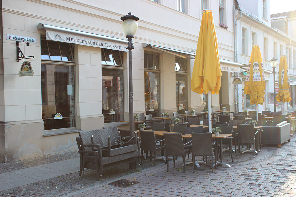 Mecklenburger Backstuben Brandenburger Straße Potsdam