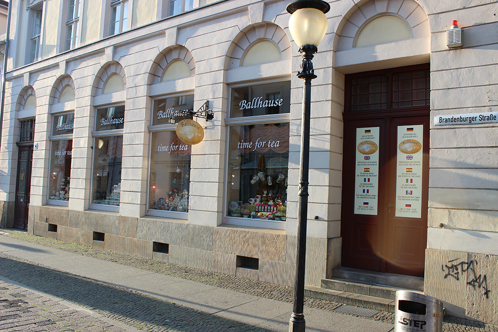 Ballhause Brandenburger Straße Potsdam