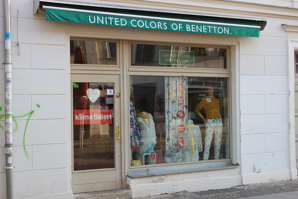 United Colors of Benetton Brandenburger Straße Potsdam