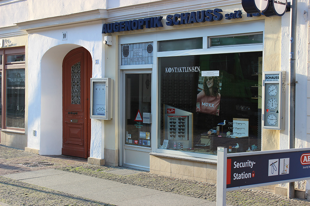 Augenoptik Schauss Brandenburger Straße Potsdam