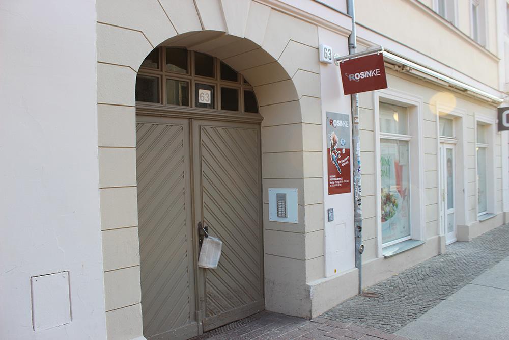 Rosinke Personalservice Brandenburger Straße Potsdam