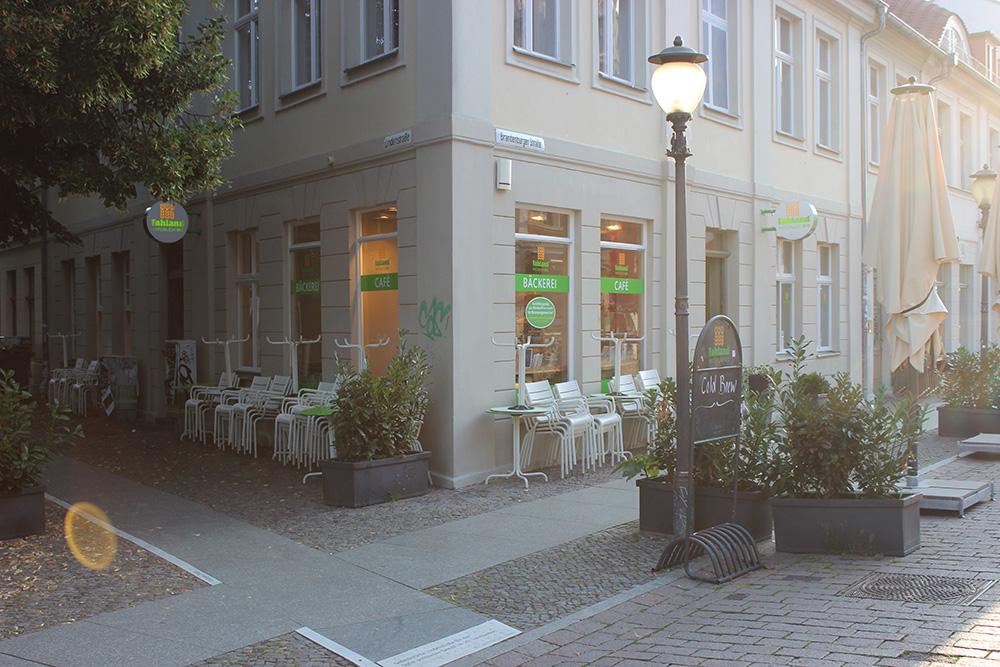 Bäckerei & Konditorei Fahland Lindenstraße Potsdam