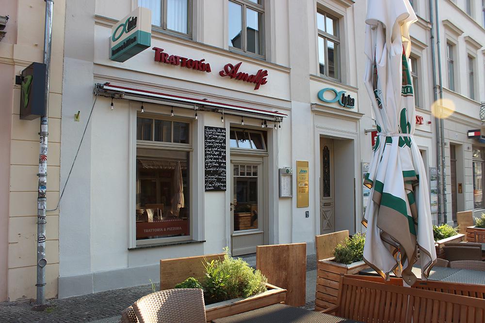 Trattoria Amalfi Brandenburger Straße Potsdam
