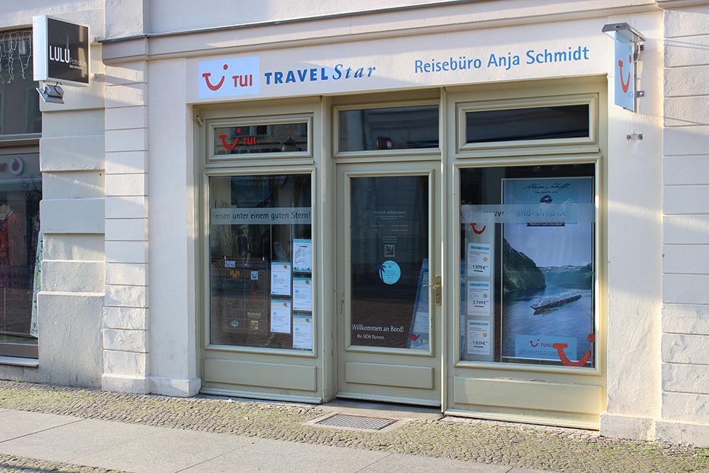 Tui Reisebüro Anja Schmidt Brandenburger Straße Potsdam