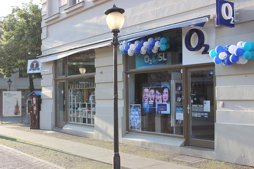 O2 Brandenburger Straße Potsdam
