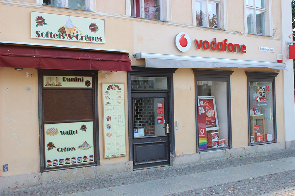 Vodafone Brandenburger Straße Potsdam