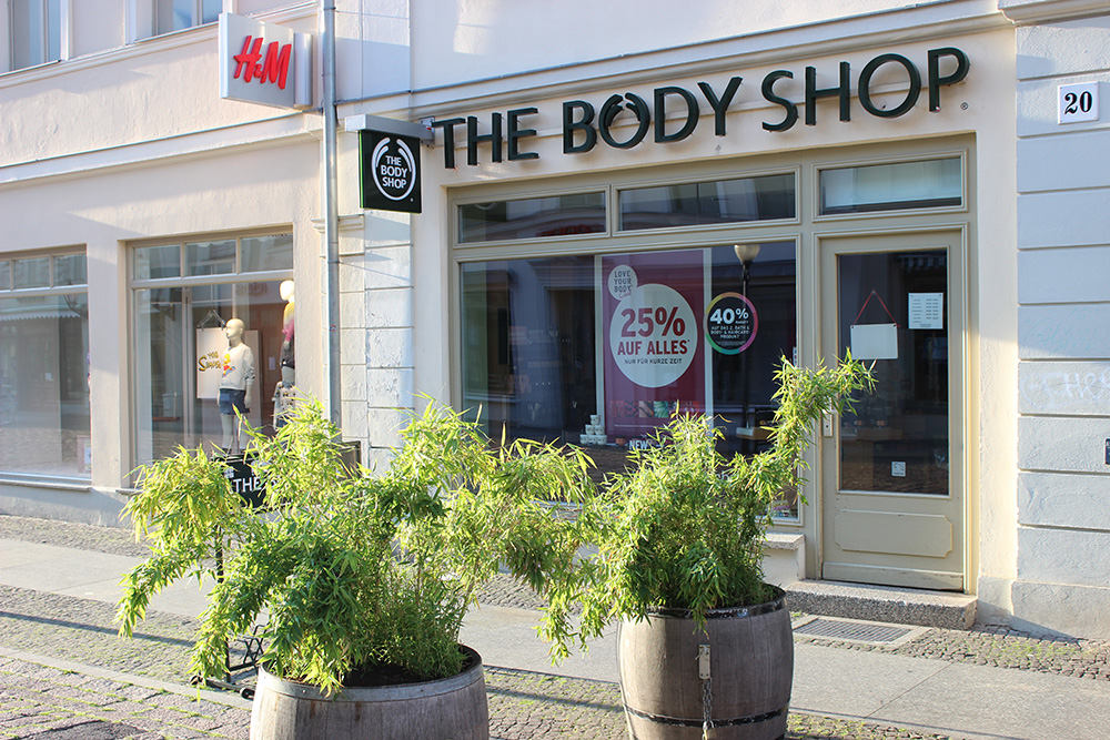 The Body Shop Brandenburger Straße Potsdam