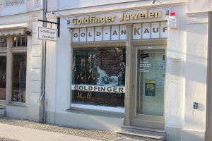 Goldfinger Juwelen Brandenburger Straße Potsdam