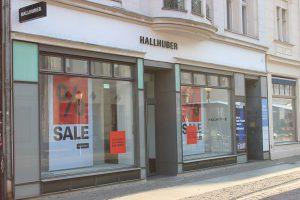 Hallhuber Brandenburger Straße Potsdam