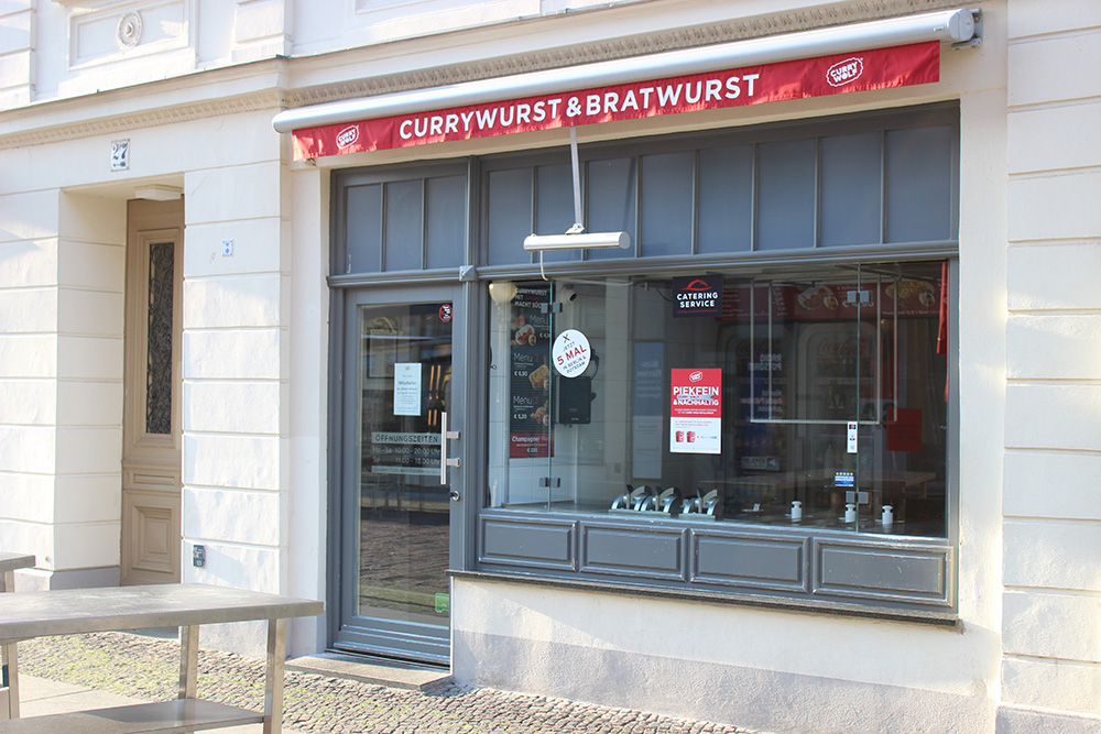 Curry Wolf Brandenburger Straße Potsdam