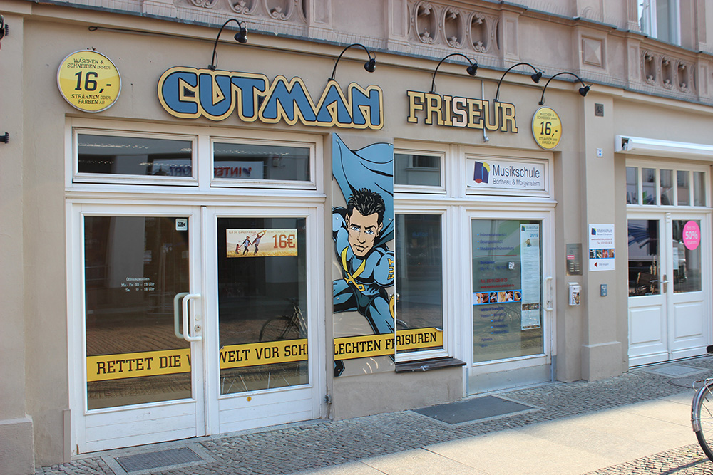 Cutman Brandenburger Straße Potsdam