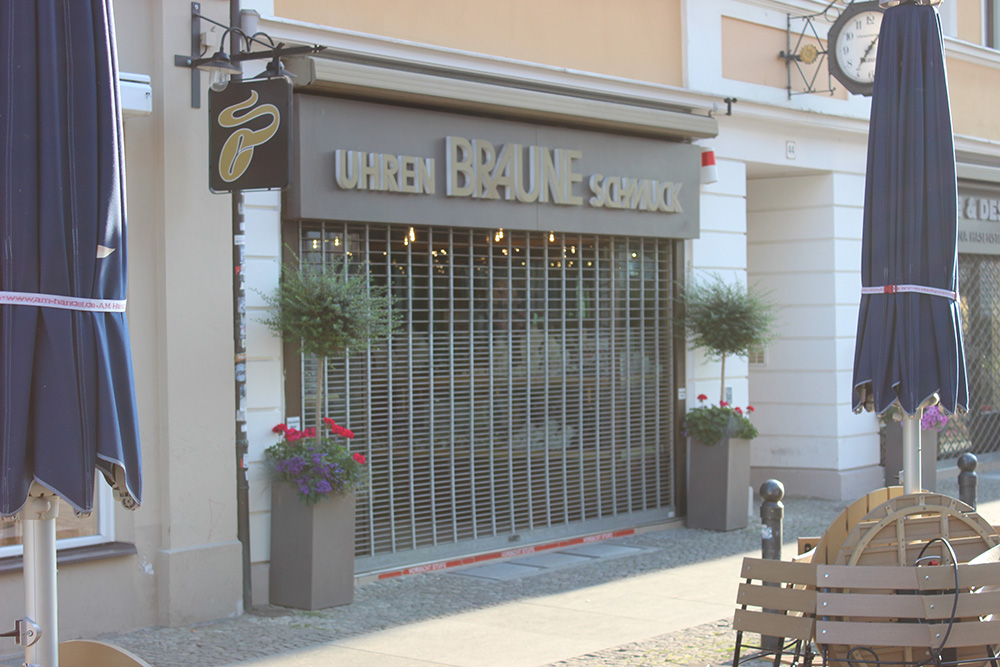 Uhren & Schmuck Braune Brandenburger Straße Potsdam