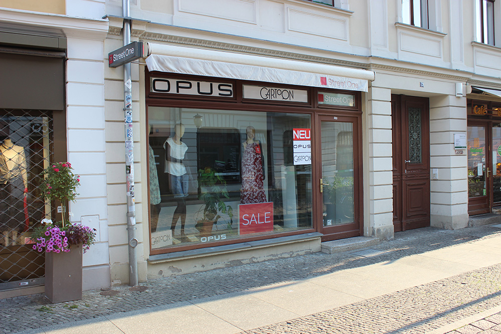 Street One Brandenburger Straße Potsdam