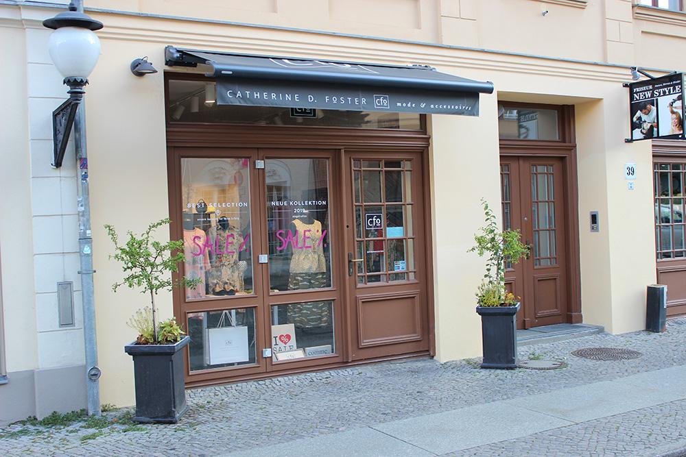 Catherine D. Foster Brandenburger Straße