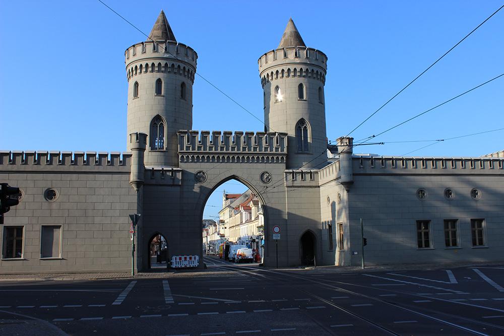 Nauener Tor Potsdam in der Nähe der Brandenburger Straße