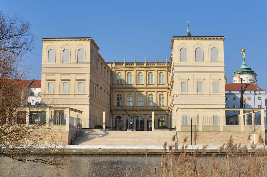 Museum Barberini in Potsdam in der Nähe des Stadtschlosses