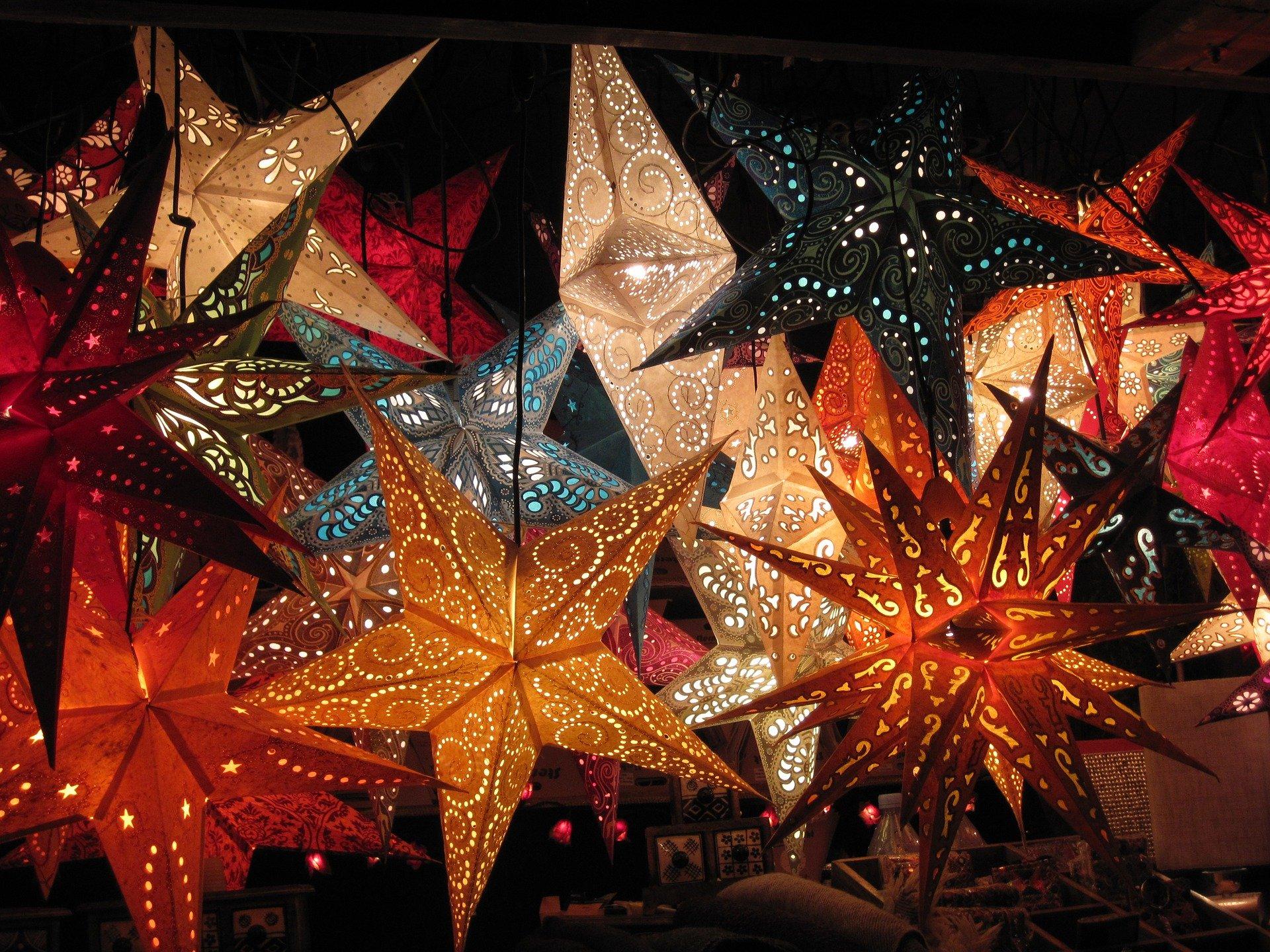 Weihnachtsmarkt Potsdam Blauer Lichterglanz
