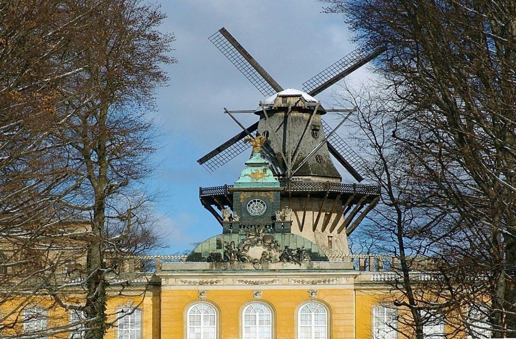 Die Historische Mühle von Sanssouci in Potsdam