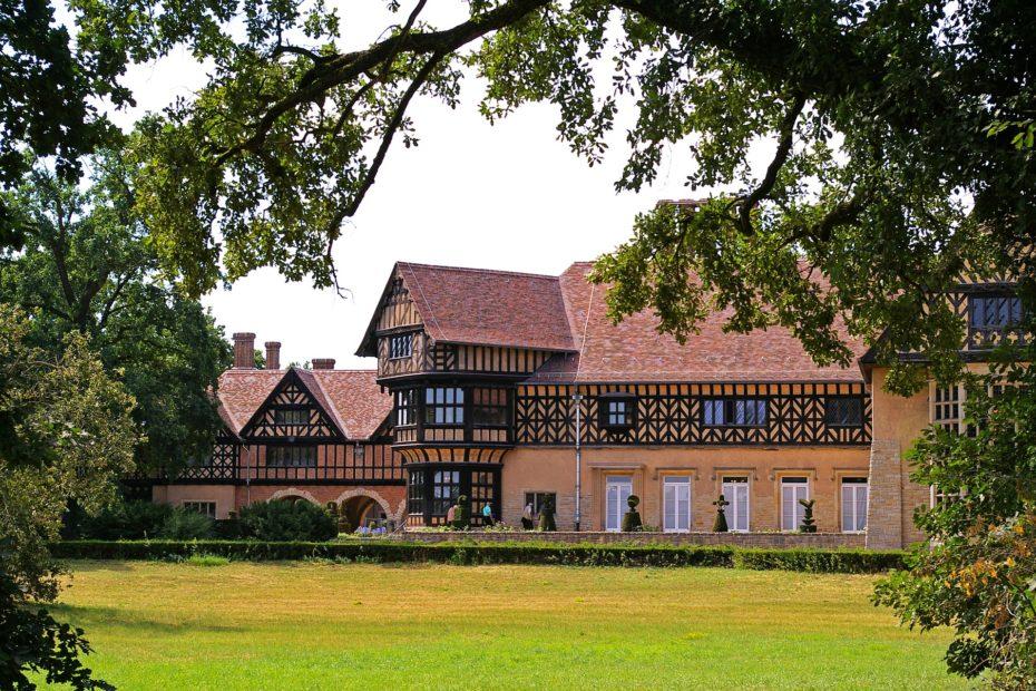 Das schloss cecilienhof in Potsdam