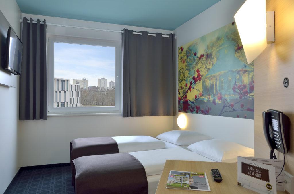 B&B Hotel Potsdam Doppelzimmer