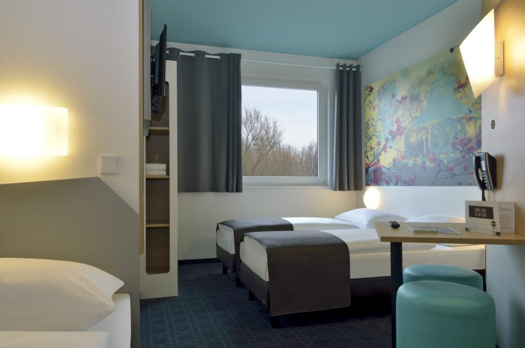 B&B Hotel Potsdam Dreibettzimmer