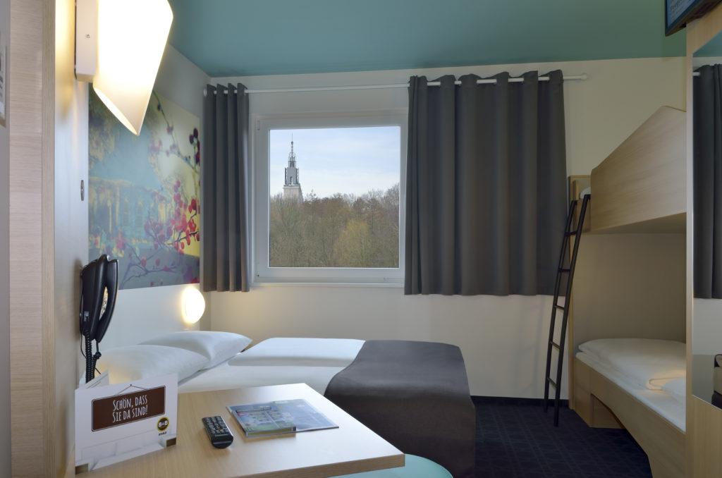 B&B Hotel Potsdam Familienzimmer