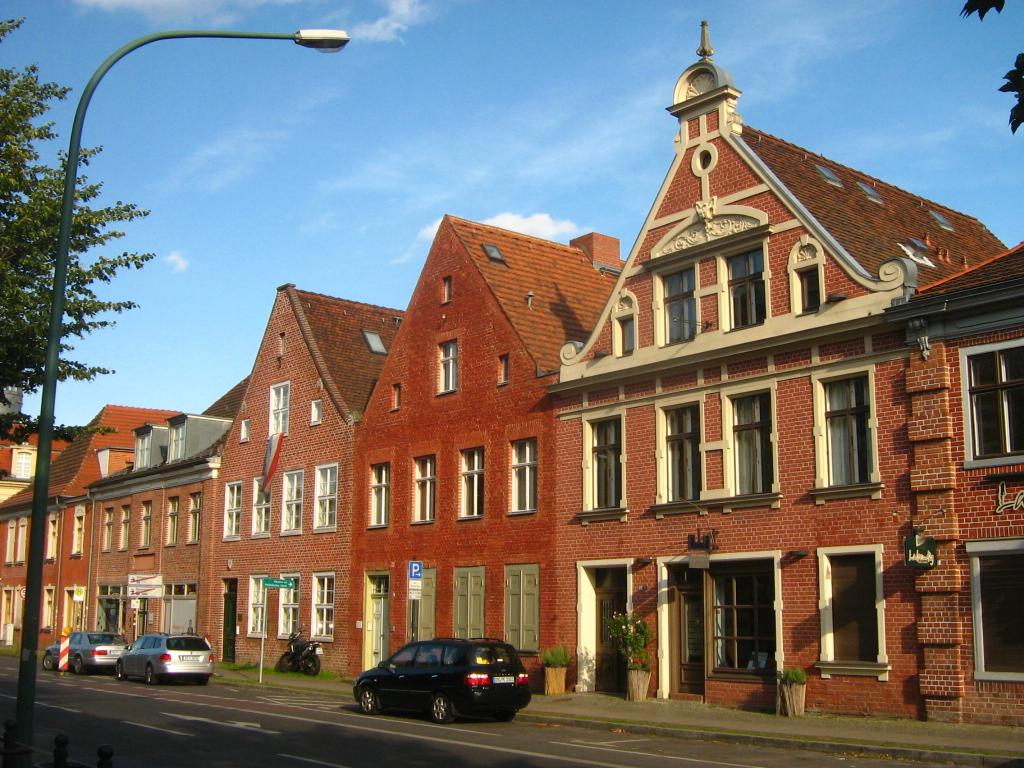 Beispiele für Typenhäuser in Potsdam