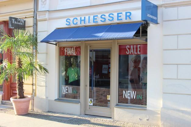 Schiesser Brandenburger Straße Potsdam
